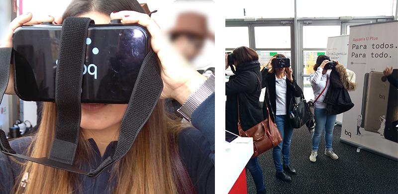 Éxito de BQ con la Realidad Virtual del turismo