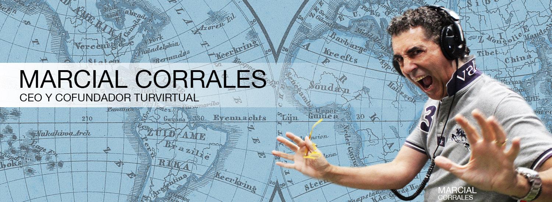 Marcial Corrales CEO de la Sociedad Española de Agencias de Viaje con Realidad Virtual