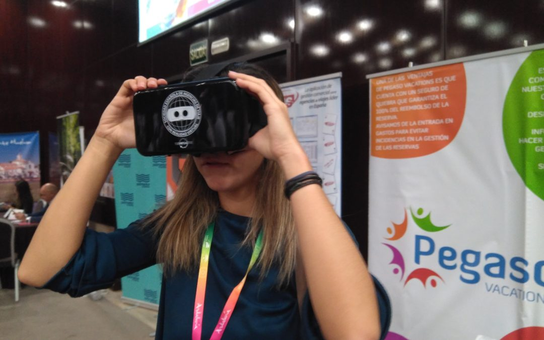 Última convención con Realidad Virtual en Agencias de Viaje
