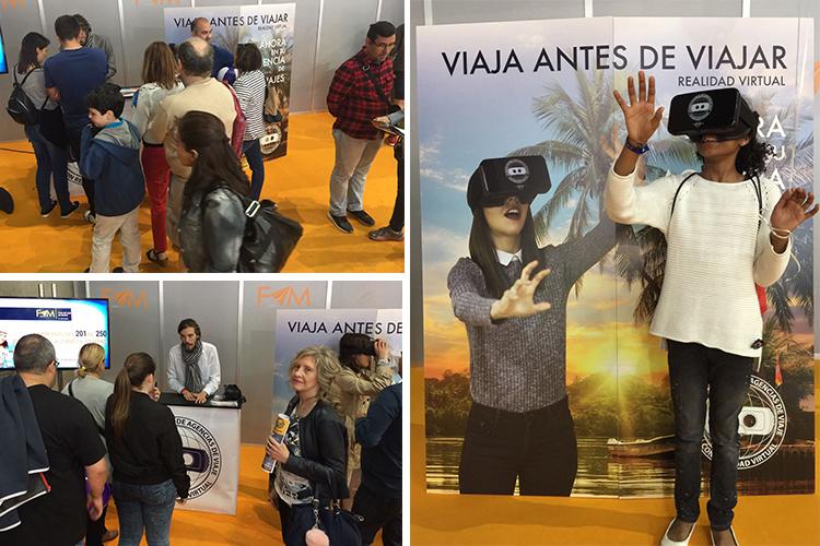 Fin de semana pleno de viajes y Realidad Virtual en Madrid