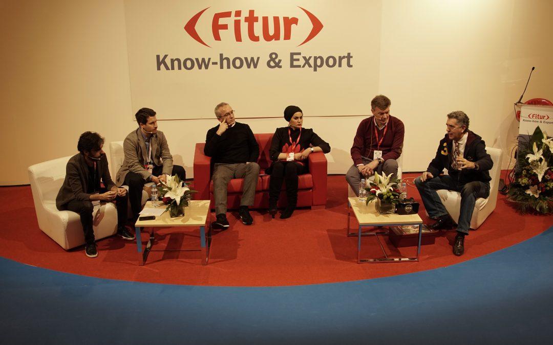 Marcial Corrales interviene en Fitur Know-How & Export