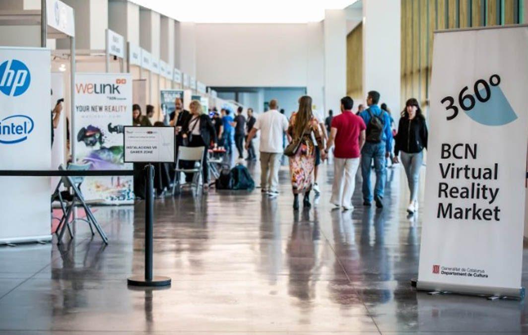 Presentamos la RV en el mercado de RV y AR celebrado en Barcelona