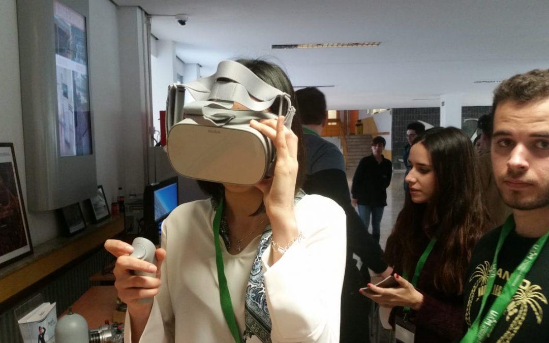 La Realidad Virtual en las Jornadas de Puertas Abiertas de la UAM