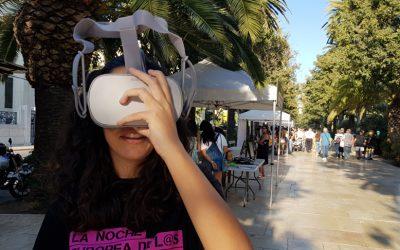 La Realidad Virtual en la 'Noche Europea de los Investigadores'